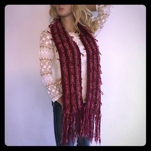 Accessories - Funky Knit Scarf Wrap